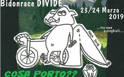 Bidonrace Divide 23/24 Marzo. Cosa serve?