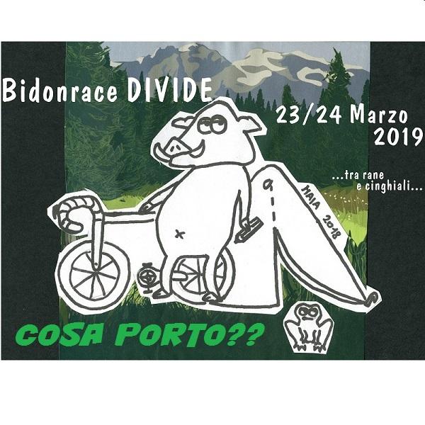 Bidonrace Divide 23/24 Marzo. Cosa serve?
