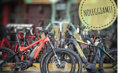 Le nostre E-bike a noleggio, noleggiale!